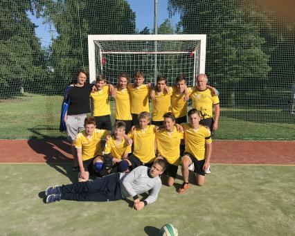 Starší žáci zakončili úspěšnou sezonu na finálovém třídenním turnaji Mistrovství ČR v Božkově